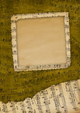 Alte Einladung für Gruß vektor abbildung