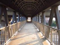 Alte Eisen-Brücke Lizenzfreie Stockfotos