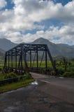 Alte Eisen-Brücke Stockbild