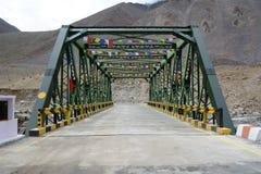 Alte Eisen-Brücke Lizenzfreies Stockbild