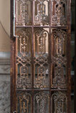 Alte Eisen-Tür antike Lizenzfreie Stockbilder