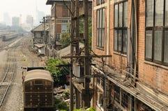 Alte Eisenbahn in Thailand. Lizenzfreie Stockbilder