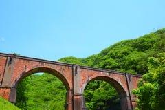 Alte Eisenbahnbrücke Stockfotografie