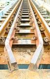Alte Eisenbahnbrücke. Stockfotos