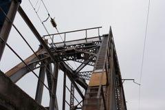 Alte Eisenbahnbrücke Lizenzfreie Stockbilder