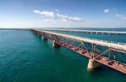 Alte Eisenbahnbrücke Bahia Hondas Lizenzfreie Stockfotografie