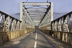 Alte Eisenbrücke Stockfoto