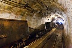 Alte Eisenerzmine, Chrustenice-Welle, Lodenice, zentrale böhmische Region, Tschechische Republik - einzigartige 84 Untertageböden Lizenzfreie Stockbilder