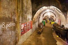 Alte Eisenerzmine, Chrustenice-Welle, Lodenice, zentrale böhmische Region, Tschechische Republik - einzigartige 84 Untertageböden Stockbilder