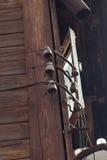 Alte elektrische Drähte Stockfoto