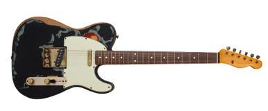 Alte elektrische Gitarre Stockbild