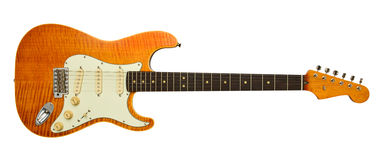 Alte elektrische Gitarre Lizenzfreies Stockfoto