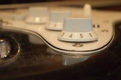 Alte elektrische Gitarre Lizenzfreie Stockfotos