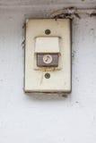 Alte elektrische Klingel Lizenzfreie Stockfotos