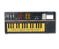 Alte Elektroniktastatur Lizenzfreie Stockbilder
