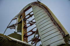 Alte Endstückflugzeuge Lizenzfreies Stockfoto