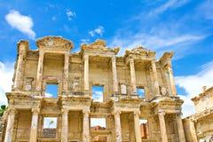 Alte Ephesus Celsus Bibliothek stockfotografie
