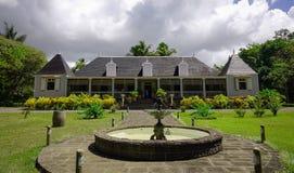 Alte Eureka-Villa in Moka, Mauritius lizenzfreie stockbilder
