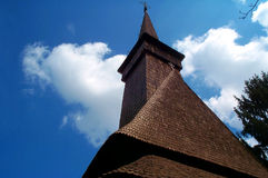 Alte europäische Kirche stockbilder