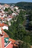 Alte europäische Stadt Stockfoto
