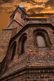 Alte evangelische methodistische Kirche Stockbilder