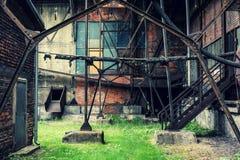 Alte Fabrik Lizenzfreies Stockbild