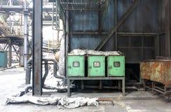 Alte Fabrik Stockfotos