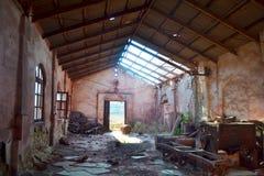 Alte Fabrik Stockfoto