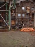 Alte Fabrik Lizenzfreies Stockfoto