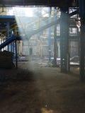 Alte Fabrik, furchtsamer Platz Lizenzfreies Stockbild