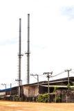 Alte Fabrik und Verbesserungen Stockbild