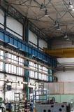 Alte Fabrikhalle für Herstellungsmetallwaren Lizenzfreie Stockbilder