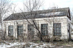 Alte Fabrikruinen Stockbild