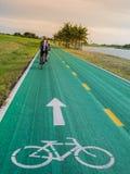 Alte Fahrradbahn Lizenzfreie Stockbilder