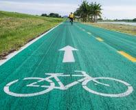 Alte Fahrradbahn Lizenzfreies Stockfoto