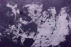 Alte Farbe auf dem Stahlhintergrund Lizenzfreies Stockbild