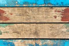 Alte Farbe auf den Brettern bilden einen Rahmen Lizenzfreies Stockfoto