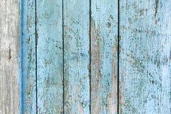 Alte Farbe auf hölzernen Schreibtischen Stockbild