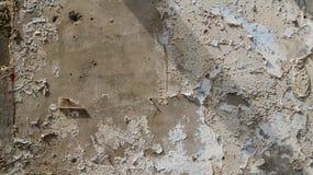 Alte Farbschale von Betonmauer schönem altem rustikalem textu Lizenzfreie Stockfotos