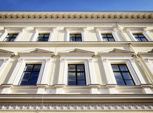 Alte Fassade Stockfoto