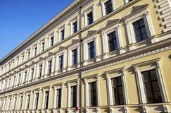 Alte Fassade Stockbild