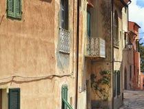 Alte Fassade Lizenzfreie Stockbilder