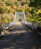 Alte Fayette-Stationsbrücke in West Virginia lizenzfreie stockfotografie