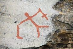 Alte Felsen Carvings lizenzfreie stockbilder