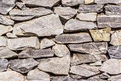 Alte Felsen-Wand Lizenzfreie Stockfotos