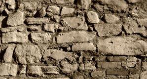 Alte Felsen-Wand Lizenzfreies Stockbild