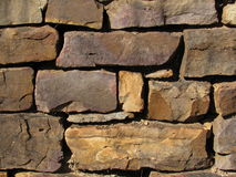 Alte Felsen-Wand in 100 Jahren alt Stockfotos