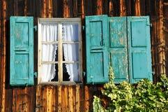 Alte Fenster Stockbild