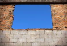 Alte Fenster. Lizenzfreies Stockfoto