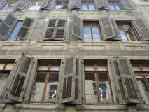 Alte Fenster Lizenzfreies Stockbild